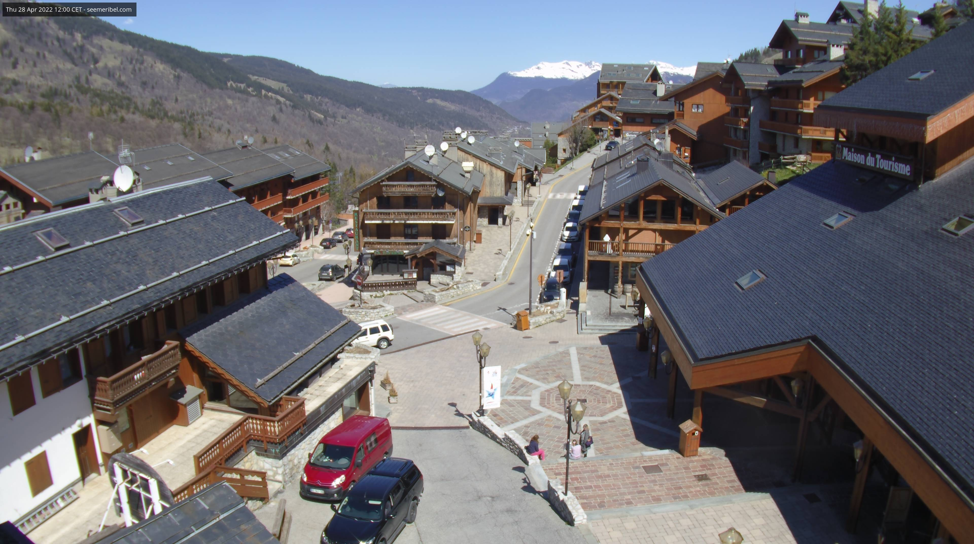 Here you can see Meribel Village Centre