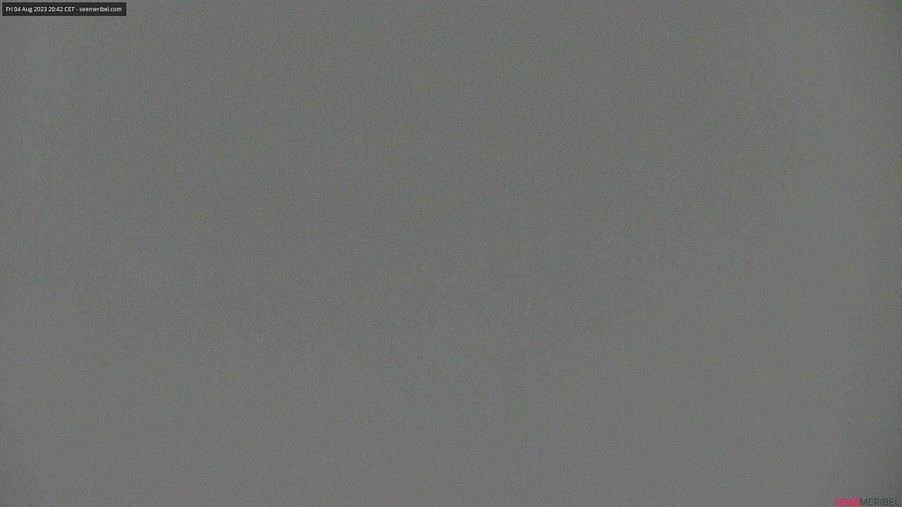 Live webcam of La Saulire